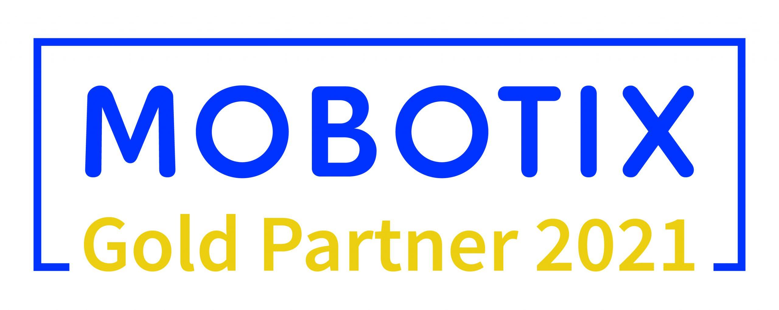 Mobotix Gold Partner Logo